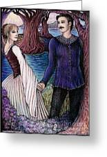 The Betrothal Greeting Card