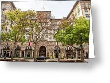 The Beverly Hills Wilshire Greeting Card