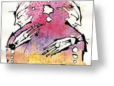 The Bi-polar Greeting Card by Mark M  Mellon