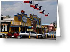 The Big Texan In Amarillo Greeting Card