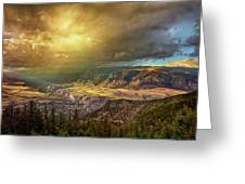 The Big Valley Greeting Card