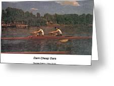 The Biglin Brothers Racing Greeting Card