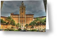 The Biltmore Hotel Greeting Card