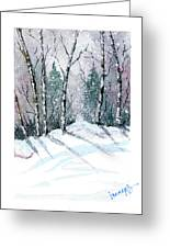 The Birch Grove Greeting Card