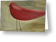 The Bird - Original Greeting Card