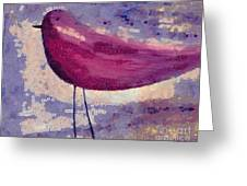 The Bird - K0912b Greeting Card