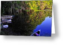 The Black Lagoon Greeting Card
