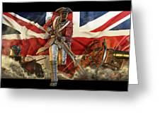 The Black Loyalist Greeting Card by Kurt Miller