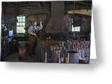 The Blacksmith Greeting Card