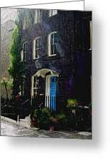 The Blue Door Greeting Card