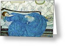 The Blue Gown, 1917  Greeting Card
