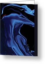 The Blue Kiss Greeting Card