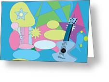 The Blues Greeting Card