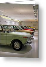 The Bmw Line Up Greeting Card
