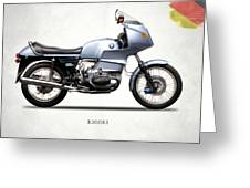 The R100rs Motorcycle 1977 Greeting Card