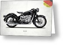 The R50s Motorcycle Greeting Card