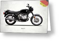 The R80 Motorcycle 1978 Greeting Card