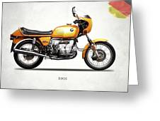 The R90s Motorcycle 1974 Greeting Card