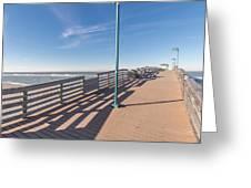 The Boardwalk Greeting Card