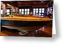 The Boathouse Interior Work 2 Greeting Card