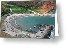 The Bolata Beach Greeting Card