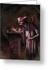 The Bone Priest Greeting Card