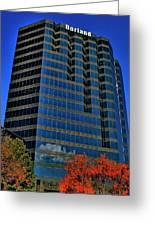 The Borland Atlanta Greeting Card by Corky Willis Atlanta Photography