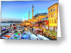 The Bosphorus Istanbul Greeting Card