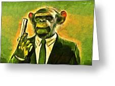 The Boss - Da Greeting Card