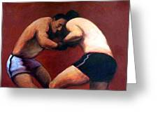 The Boxers Greeting Card