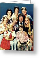 The Brady Bunch Greeting Card