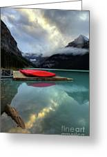 The Breathtakingly Beautiful Lake Louise II Greeting Card
