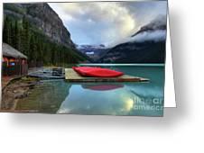 The Breathtakingly Beautiful Lake Louise IIi Greeting Card
