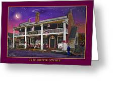 The Brick Store Greeting Card