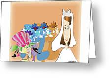 The Bridal Party Greeting Card