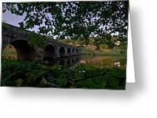 The Bridge At Inistogue Greeting Card