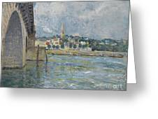 The Bridge At Saint Cloud Greeting Card