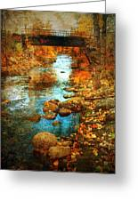 The Bridge By Government Street Greeting Card