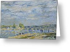 The Bridge Near Sevres Greeting Card