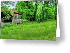 The Bridge Of Farmhouse Gallery Greeting Card