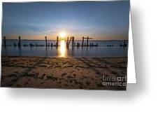 The Bridge Of Light  Greeting Card