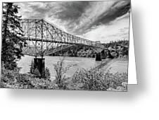 The Bridge Of The Gods Greeting Card