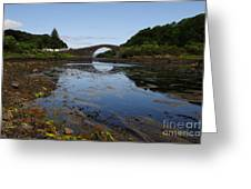 The Bridge Over The Atlantic Greeting Card