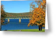 The Bridge Greeting Card by Rick Morgan