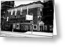 the Broadhurst theatre featuring anastasia musical New York City USA Greeting Card