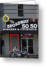 The Broadway 50 50 Greeting Card