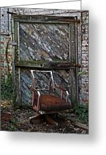 The Brown Chair Greeting Card
