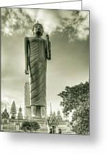 The Buddha Of Roi-et Greeting Card