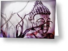 The Buddhist Sticks  Greeting Card