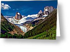 The Bugaboos Greeting Card